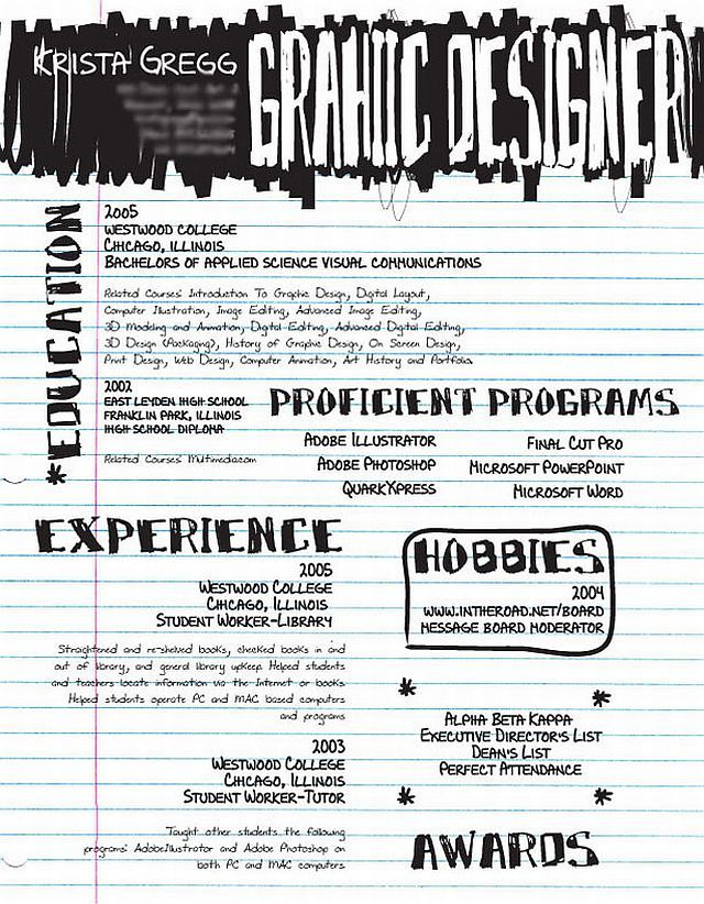 14 Most Creative Resumes  Most Creative Resumes