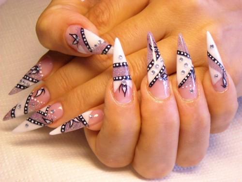 Новый дизайн ногтей 2012