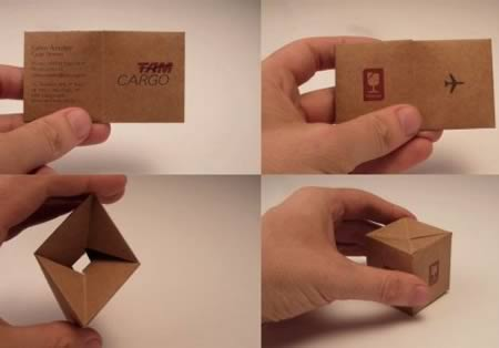 Weird archives page 5 of 8 funcage a cargo company uses this simple trick to transform the traditional business card into a little box they use for transporting cargo air impressive colourmoves