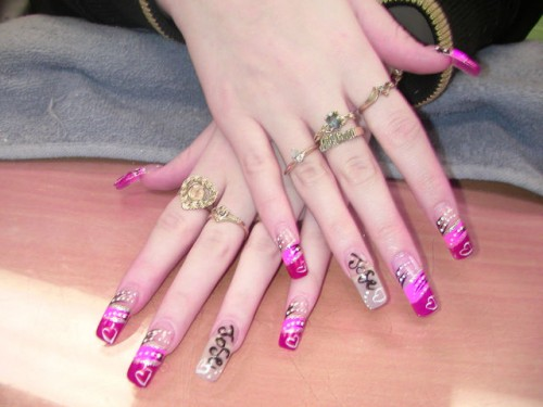 8 most unusual nail designs funcage if you do not have money in your pocket you can flaunt the one on your finger tips lol sexy nail designs prinsesfo Images