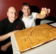 Worlds Biggest Custard Cream