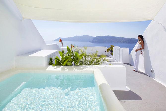 Minimalist luxury mediterranean hotel in greece 005 funcage for Minimalist hotel