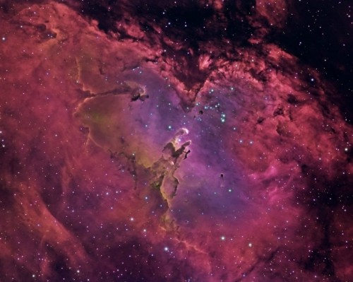 Pillars Of Creation Located In The Eagle Nebula 16 Photos
