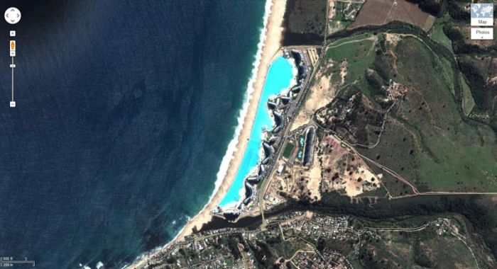 Worlds largest swimming pool in san alfonso del mar resort - San alfonso del mar resort swimming pool ...
