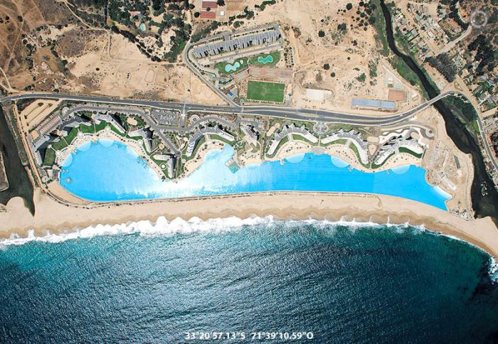 Worlds Largest Swimming Pool In San Alfonso Del Mar Resort