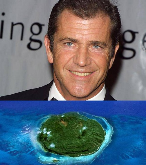 Celebrity island owners