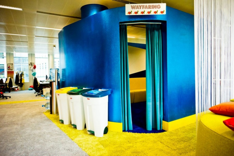 70s Style Google Office in London 25 Photos FunCage