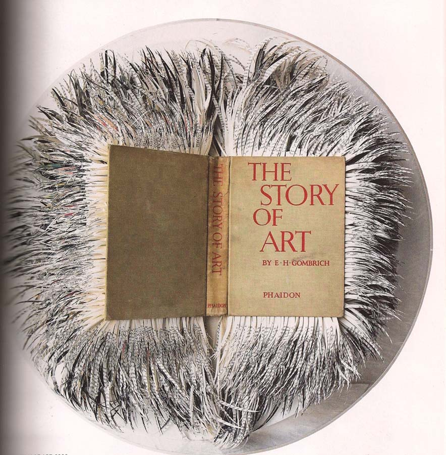 Transforming Books into Visual Art by Scottish Artist