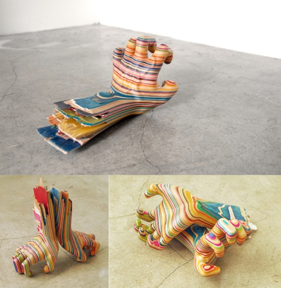 Most-Creative-Sculptures-From-Skateboard-014