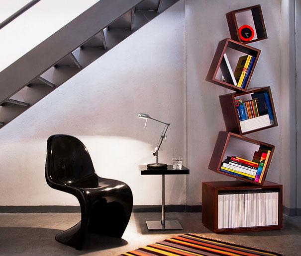 33 Creative Bookshelf Designs 009 Funcage