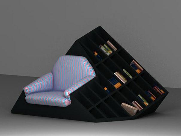 33 creative bookshelf designs - funcage