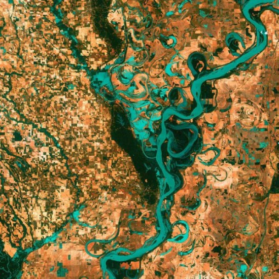 Best Earth Satellite Photos As Art FunCage - The best satellite maps
