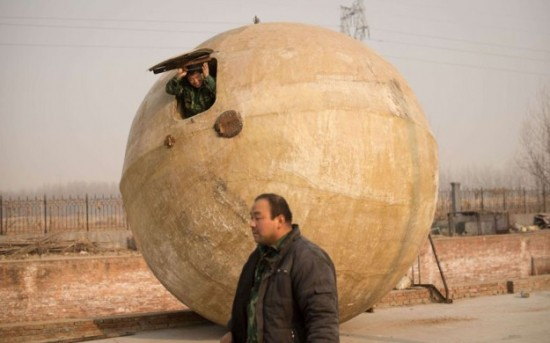 Chinese Rescue Balls In Case Of Doom (10 Photos) - FunCage