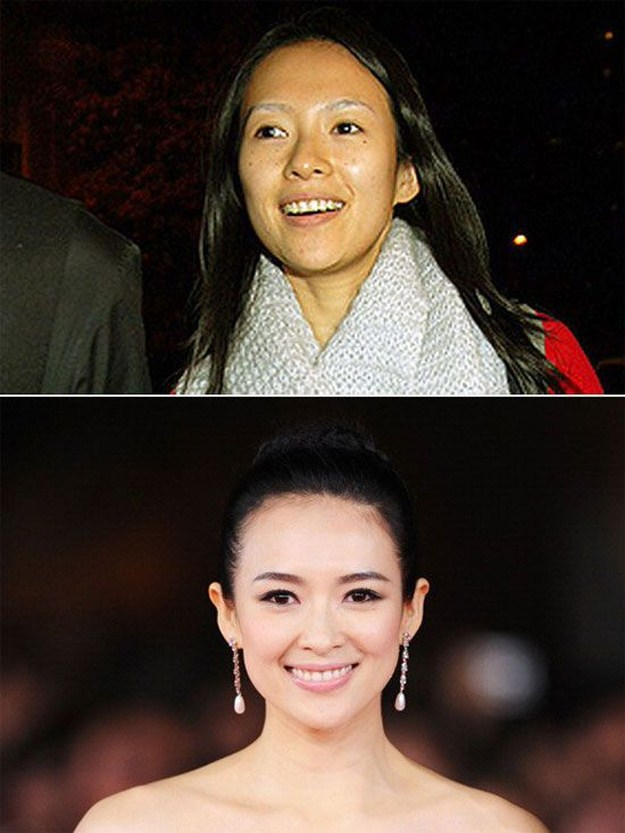 chinese actresses before and after makeup 16 photos