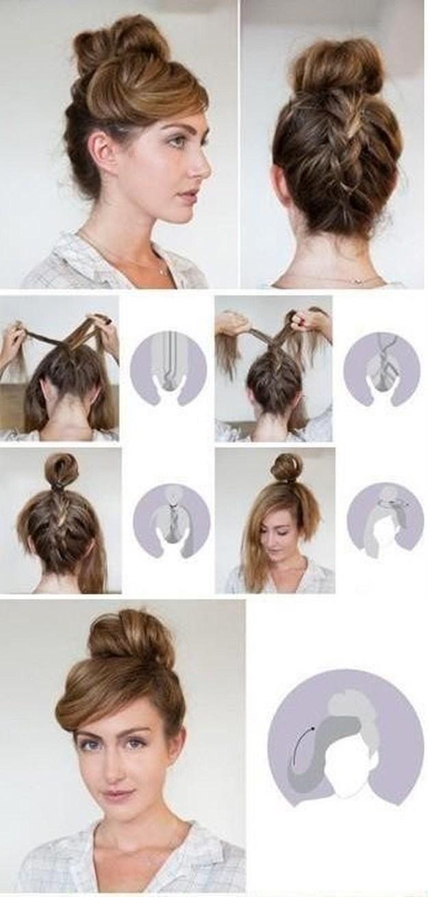 Женские причёски своими руками