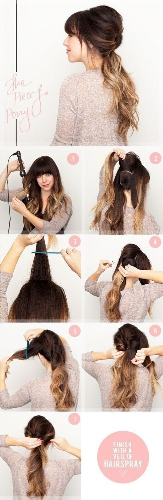 Creative Hairstyles That You Can Easily Do at Home (27 Photos) - FunCage