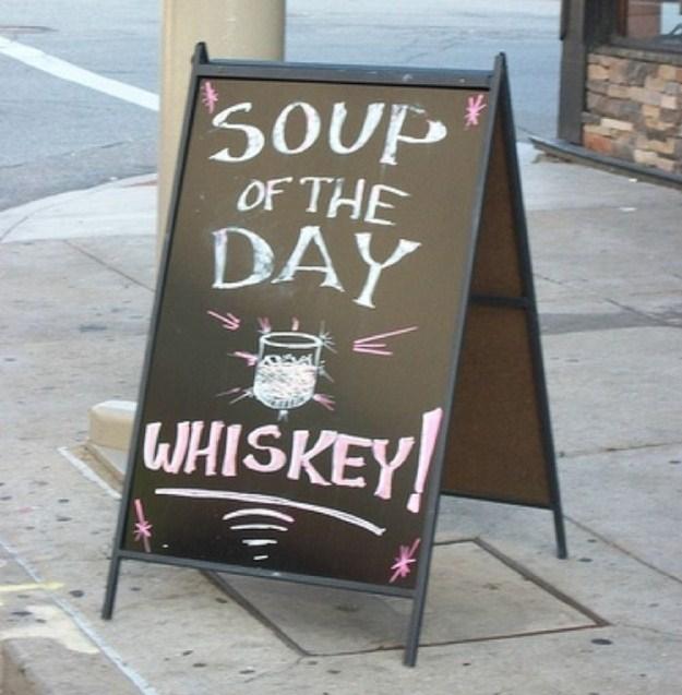 Whiskey Cafe Menu
