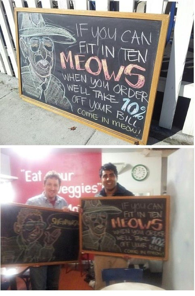 Funny Restaurant Signs (15 Photos)