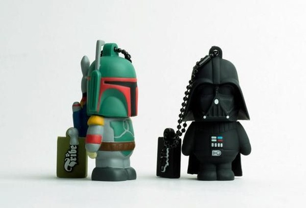star wars usb flash drives 6 photos funcage. Black Bedroom Furniture Sets. Home Design Ideas