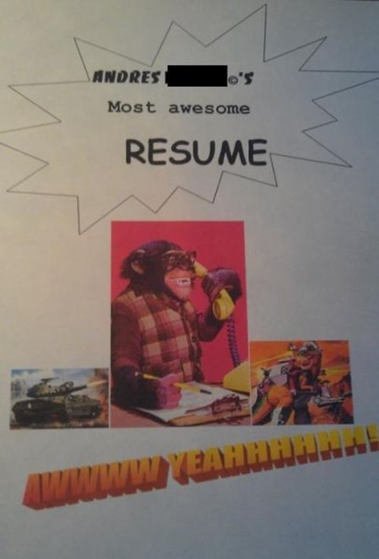 The most hilarious job applications