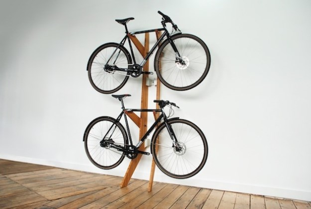 15 space saving home bike racks 013 funcage - Small space bike storage decoration ...