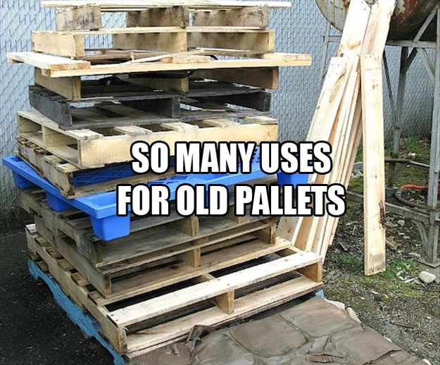 Amazing uses for old pallets 001 funcage for Uses for used pallets