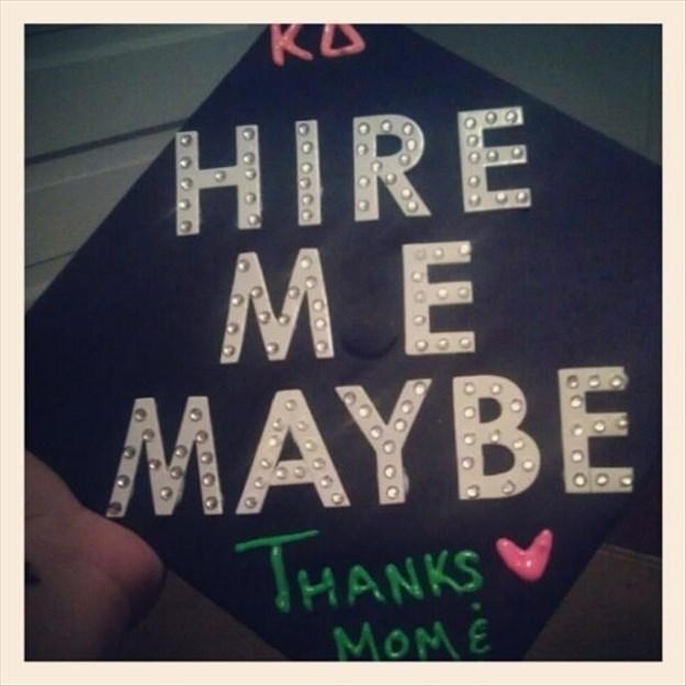 Creative graduation cap quotes