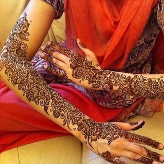 The Gorgeous Indian Henna Tattoo Art: Beautiful Henna Tattoos (40 Photos)