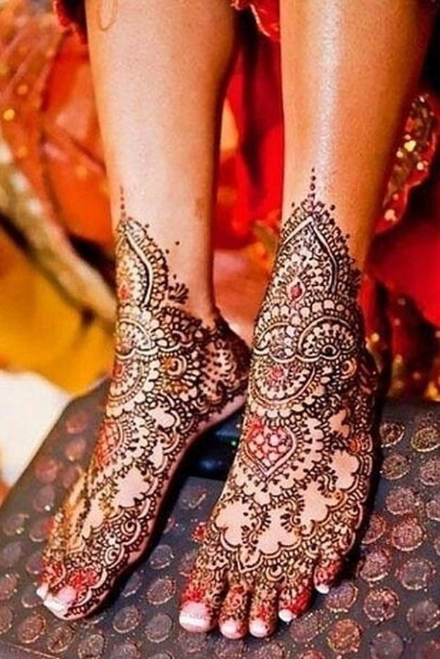 Beautiful Mehndi : Beautiful henna tattoos funcage