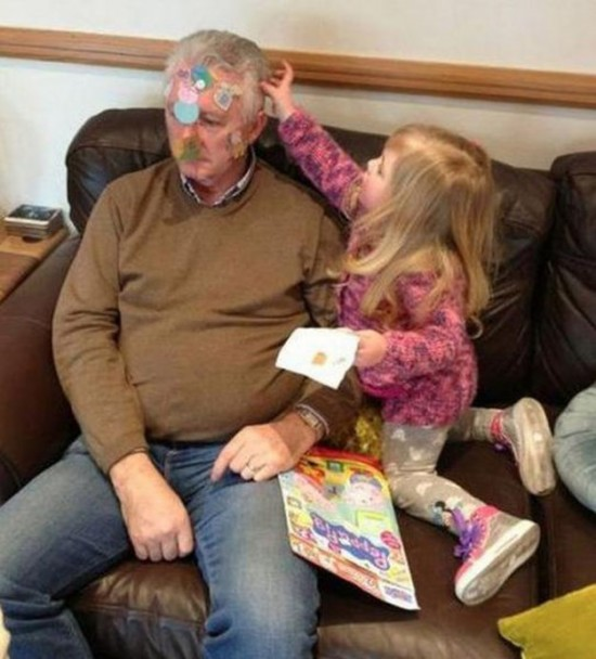 Фото дед и внучка 98470 фотография