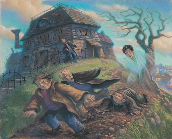 Harry Potter Book Art Hogwarts Mary-GrandPre-U...