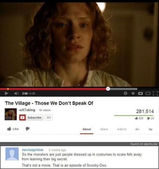 16 Funny YouTube Comments