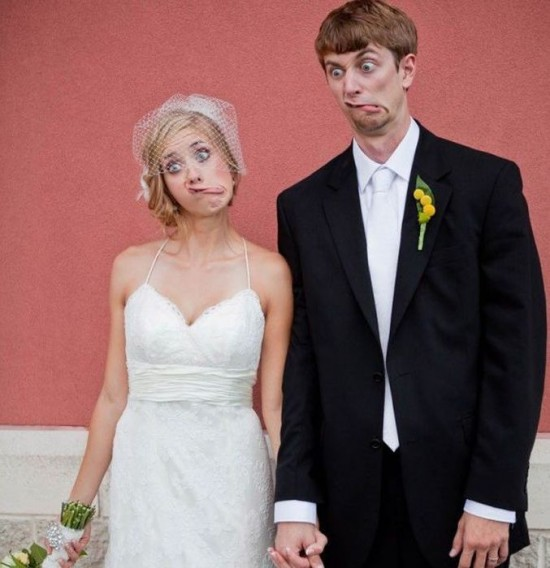 Selection of Funny Wedding Pictures (46 Photos) - FunCage