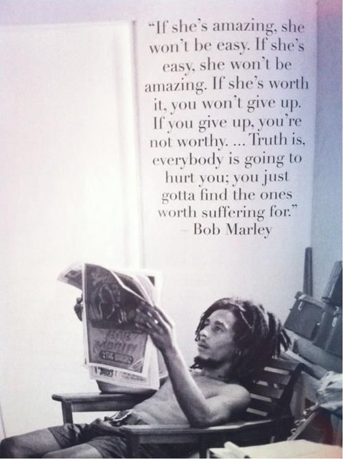 Awesome Bob Marley Quotes (14 Quotes) - FunCage