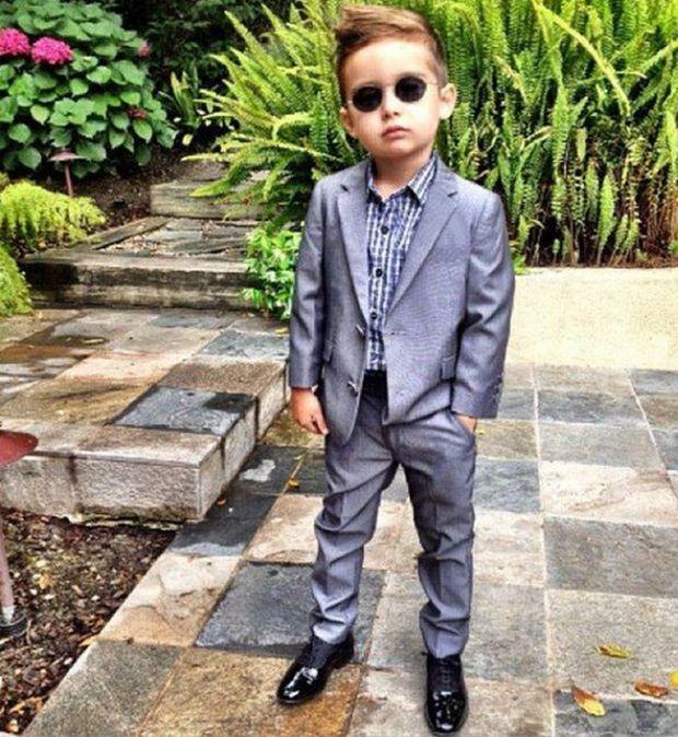 Фото мальчик модный