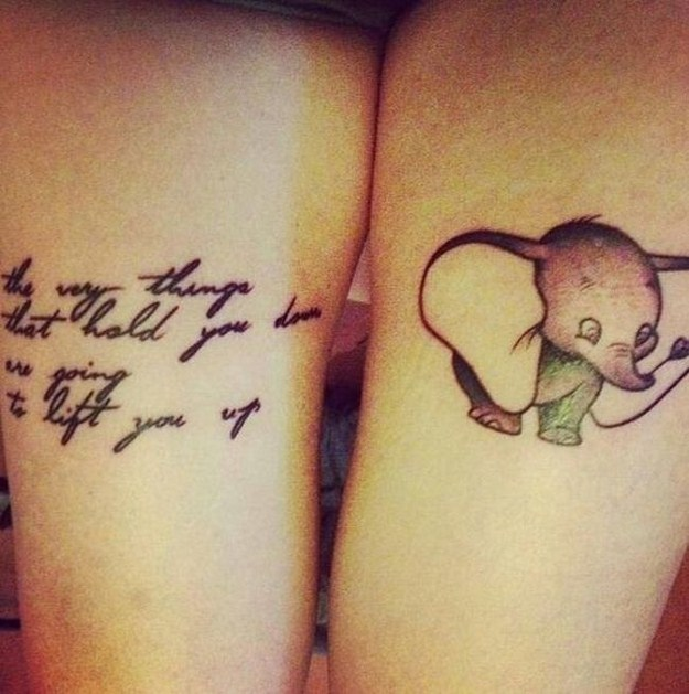 Creative Disney Tattoos That Will Make You Wish Upon A
