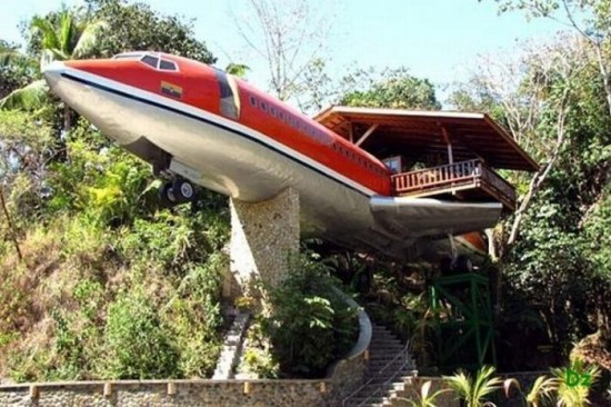 727 Fuselage Home in Costa Rica1