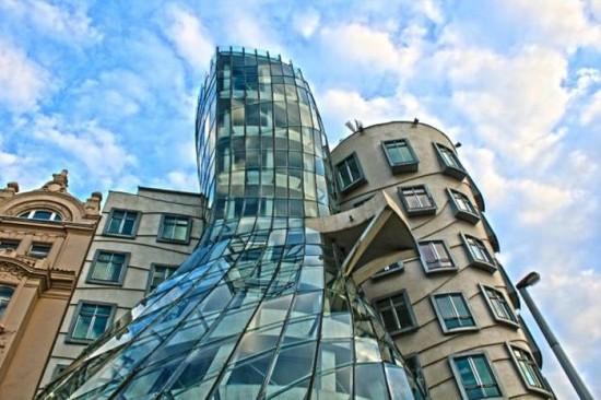 Dancing Building in Prague, Czech Republic