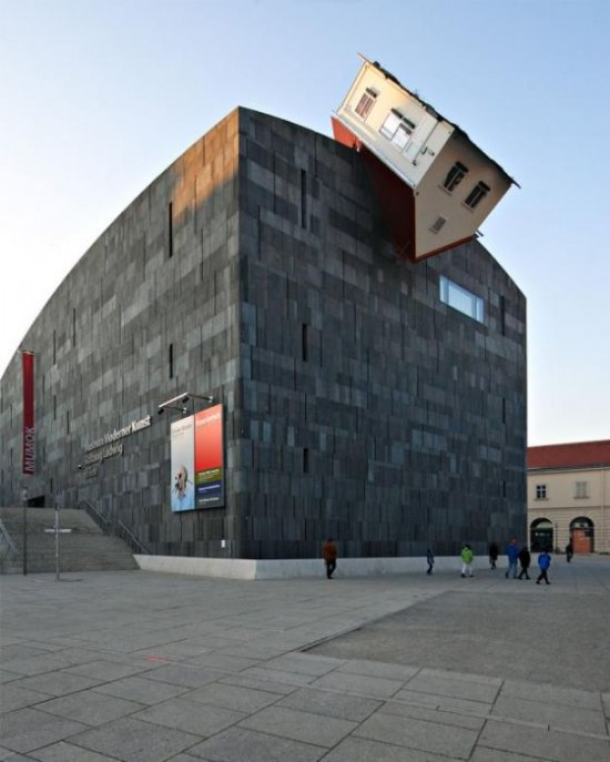 Erwin Wurm House Attack in Vienna, Austria1