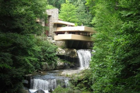 Fallingwater in Pennsylvania, USA