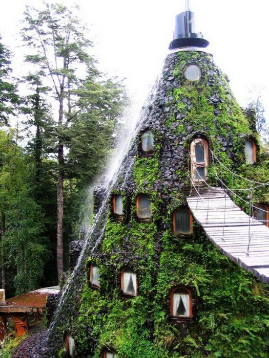 Hotel la Montana Magica in Chile