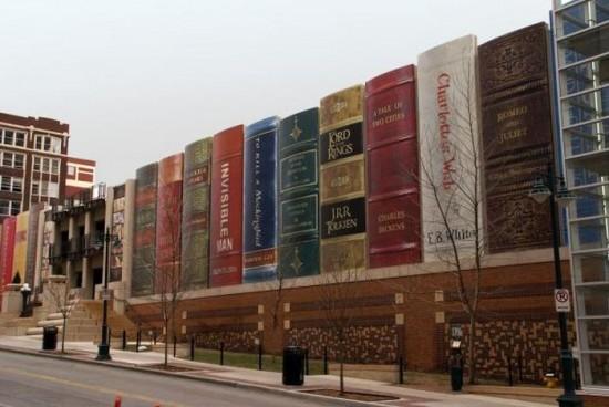 Kansas City Public Library in Missouri, USA