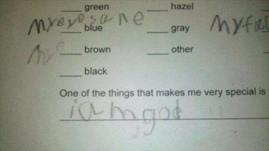 Kids Can Write The Funniest Things 35 Photos Funcage