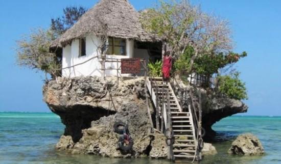 Rock Restaurant Zanzibar in Tanzania