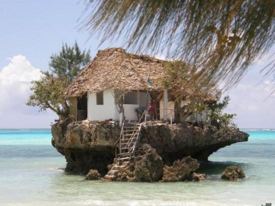 Rock Restaurant Zanzibar in Tanzania1