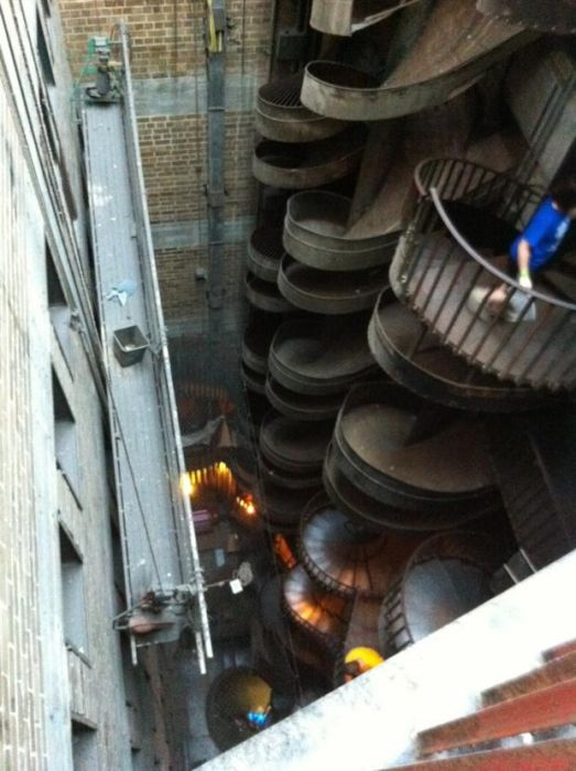 St Louis City Museum's Seven-Story Slide in Missouri, USA1