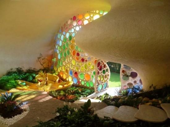 The Nautilus House in Mexico City, Mexico