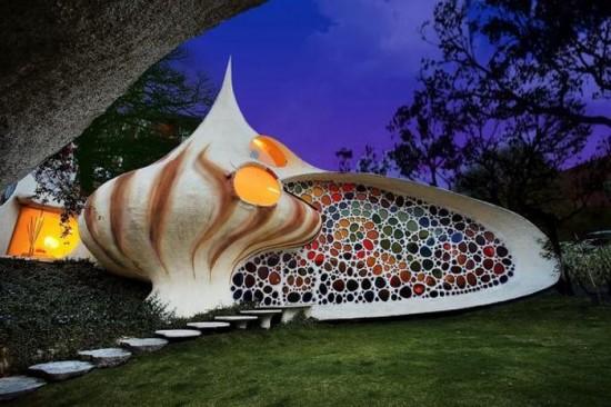 The Nautilus House in Mexico City, Mexico1