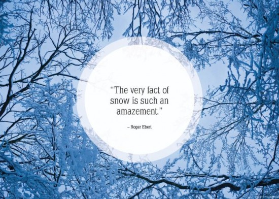 24 Nice Quotes About Winter And Snow - FunCage