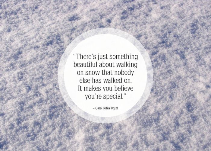Funny snow quotes winter quotes